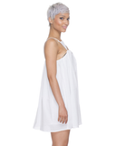 LOVE TRIANGLE Dress in White at FLYJANE