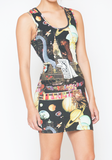 Godzilla Invades Vegas Dress at FLYJANE