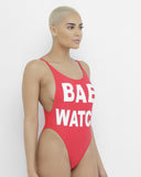 BAE WATCH Red One Piece Swimsuit at FLYJANE | Sexy BAE WATCH One Piece Swimsuit | Red BAY WATCH Swimsuit | Red One Piece Swimsuit | private Party Bae Watch