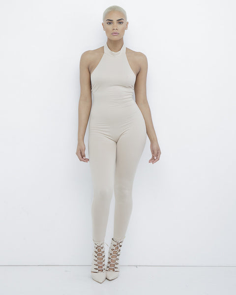 NUDE GAL PARADISE BODYCON JUMPSUIT