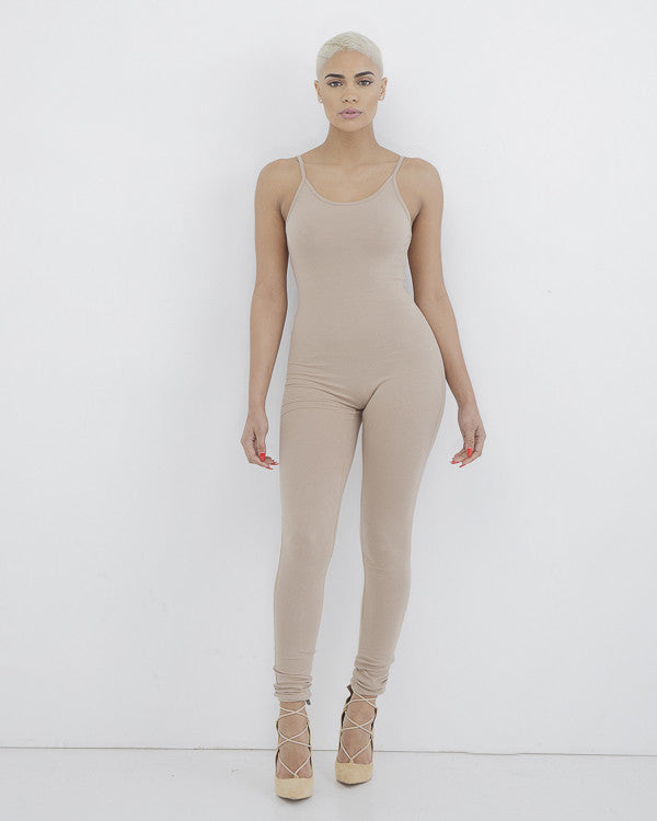 MARNI JERSEY CATSUIT - NUDE