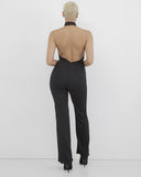 MIAMI NIGHTS PLUNGING JUMPSUIT