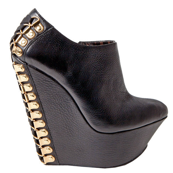 Betsey Johnson MAYSY Platform Wedge Bootie at shopFLYJANE.com
