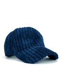 DARCI Corduroy Cap in Navy at FLYJANE | Cute Cozy Corduroy Baseball Caps for Loungewear or Bad Hair Days Cap | Shop Cute Accessories at FLYJANE