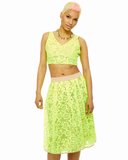CHEMICAL ROMANCE Lace Skirt at FLYJANE