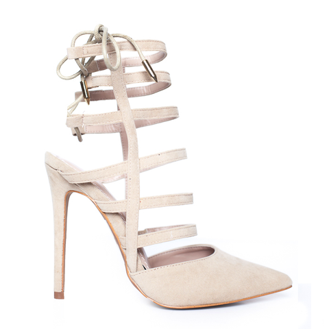 ABBEY PUMP - BEIGE