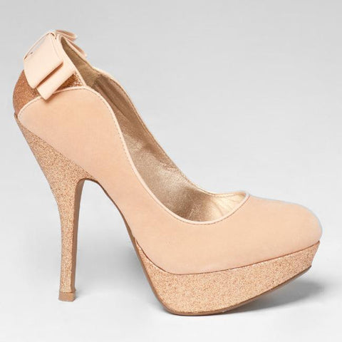 Qupid ONYX-17 Sparkle Pump at FLYJANE