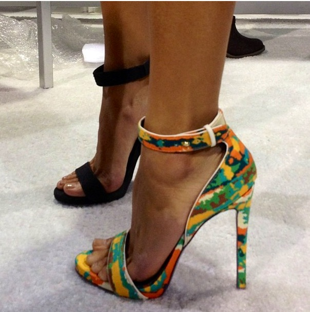 London Trash PHOENIX Sandal in Bright Multi at ShopFlyJane.com