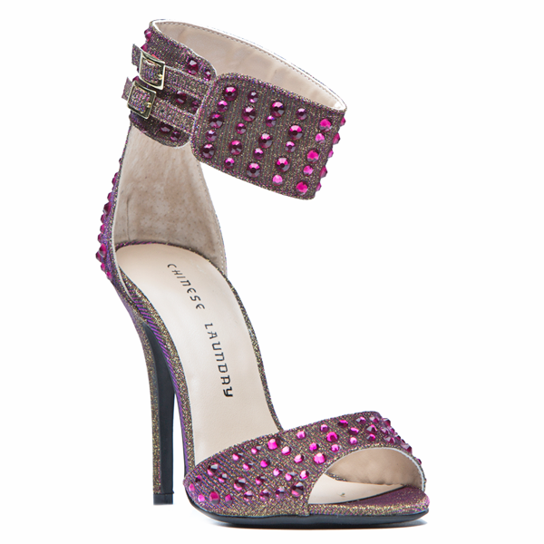 Chinese Laundry JOVIAL Jeweled Sandal at ShopFlyJane.com