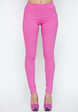 High Society Skinny Pant in Pink at FLYJANE