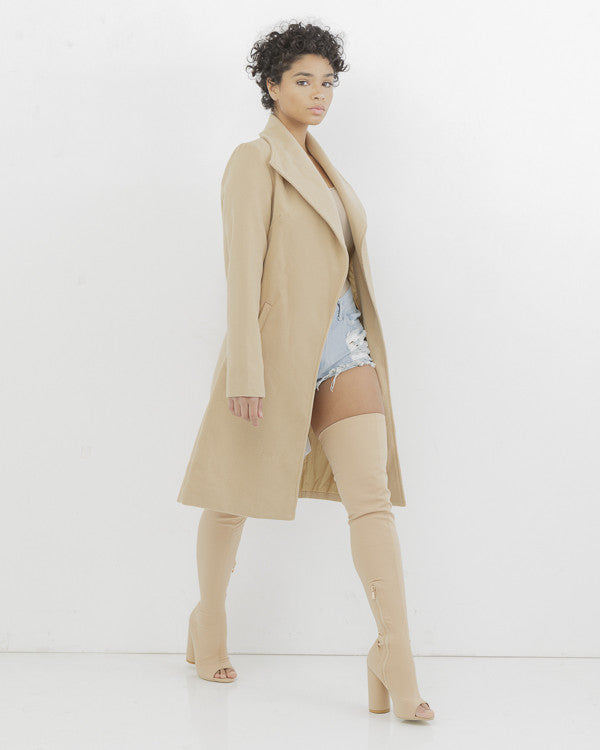 LETS GET TO BUSINESS LONGLINE COAT