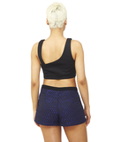 Versailles Beaded Shorts in Blue at FLYJANE