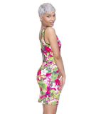 Tropical Punch Body Con Dress at FLYJANE