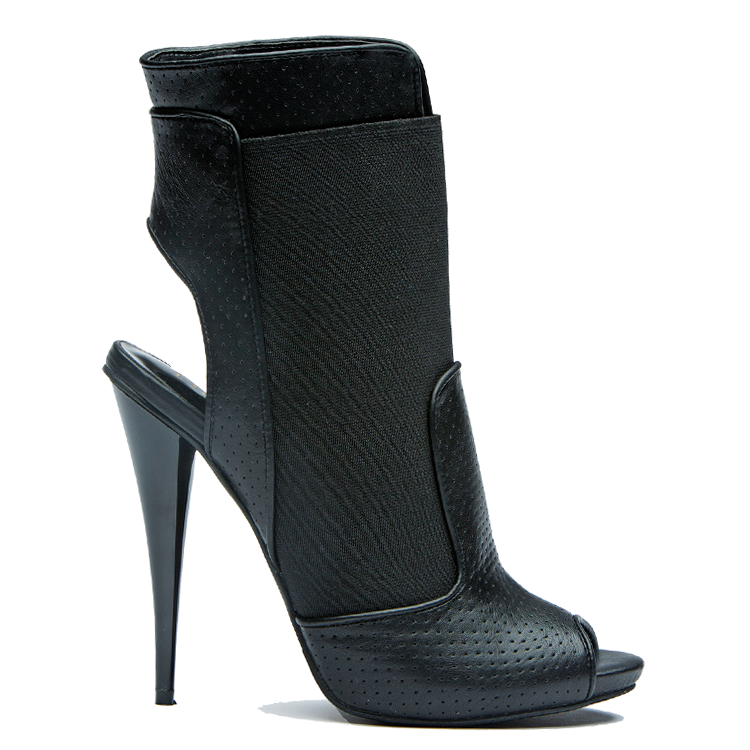 JEOPARDY Bootie in Black | Liliana RIVY-17 at FLYJANE
