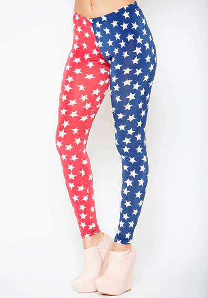 SPANGLED STARS LEGGINGS