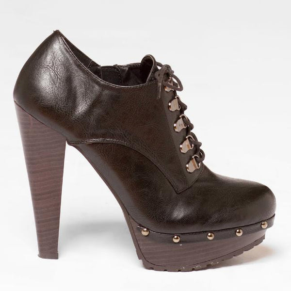 Qupid Saydie-13X Studded Bootie at FLYJANE