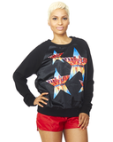 Superstar Satin Sweatshirt at FLYJANE