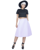STARLET Aline Midi Skirt in Lilac at FLYJANE