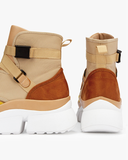 HIGH LIFE Women's Sneakers in Tan | FLYJANE  | Cute Designer Inspired Utility Sneakers for High Class Women | Shop FLYJANE for the Custest Pieces in FASHION! HIGH LIFE Women's Sneakers in Tan | FLYJANE  | Cute Designer Inspired Utility Sneakers for High Class Women | Shop FLYJANE for the Custest Pieces in FASHION!