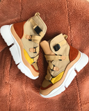 HIGH LIFE Women's Sneakers in Tan | FLYJANE  | Cute Designer Inspired Utility Sneakers for High Class Women | Shop FLYJANE for the Custest Pieces in FASHION!