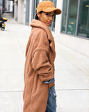 RUXPIN Oversized Faux Fur Teddy Coat at FLYJANE |  Teddy Trench Coat | Teddy Fur Jacket at ShopFlyJane.com
