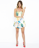 KAUAI GIRL Floral Bustier Dress at FLYJANE | Summer Dresses | Cruise Wear | Tropical printed Dresses
