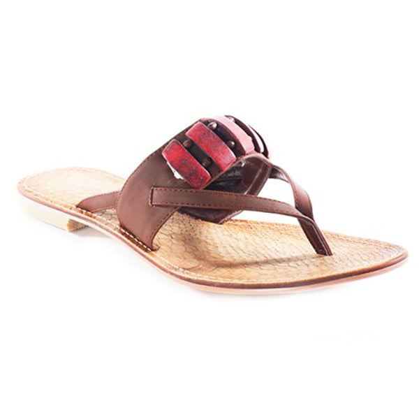 NOMI Beaded Thong Sandals in Brown at FLYJANE | Cute Thong Sandals | Brown Slides | Brown Thong Sandals | Cute Sandals under $25 | Shop FLYJANE on Instagram