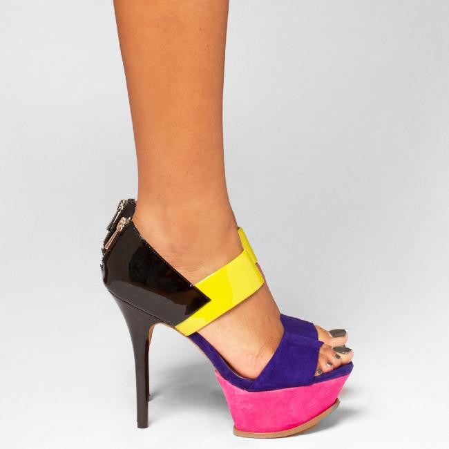 Jessica Simpson VADIO Platform Pump at FLYJANE