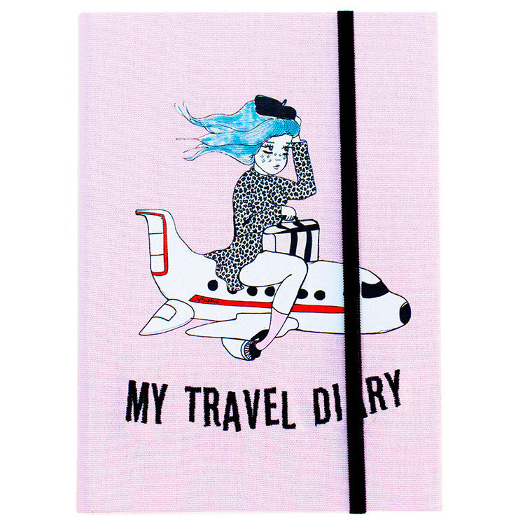 VALFRÉ PINK TRAVEL DIARY JOURNAL AT FLYJANE | VALFRE Phone CASES for IPhone 6 and 6S | Cute Contemporary Accessories | FOLLOW US AT @FLYJANE on Instagram