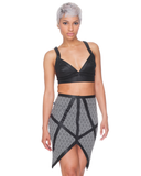 SUGAR AND VICE Pencil Skirt at FLYJANE