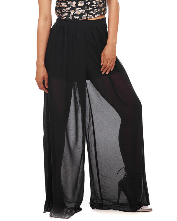 PROWESS INFINITY Sheer Pants at FLYJANE