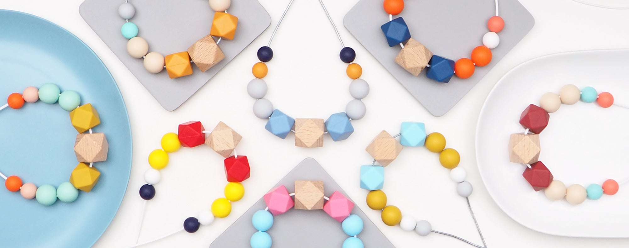 The Wild and The Tame_Wood and Silicone Teething Necklaces