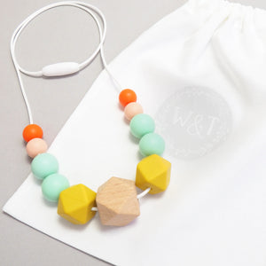Feline Silicone Teething Necklace