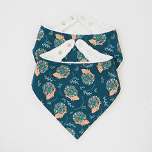 Happy Hedgehogs Bandana Bibs - twin pack (Pre-order)