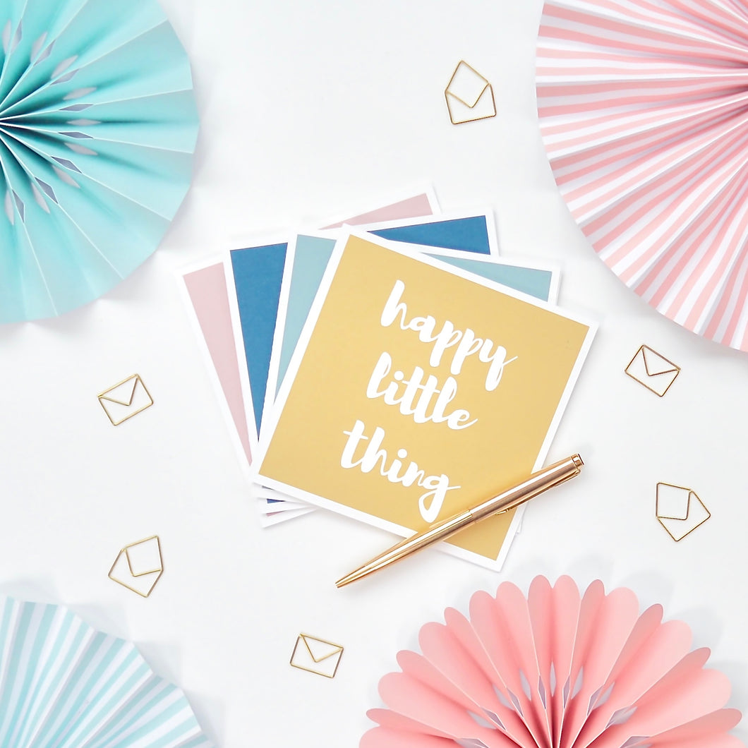 Happy Little Thing Greeting Card