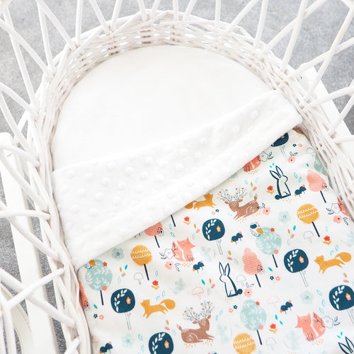 In The Woods Cot / Moses Basket Blanket (Pre-order)