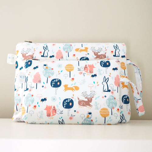 In The Woods Nappy Pouch / Mama Pouch (Pre-order)