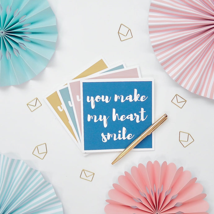 Make My Heart Smile Greeting Card