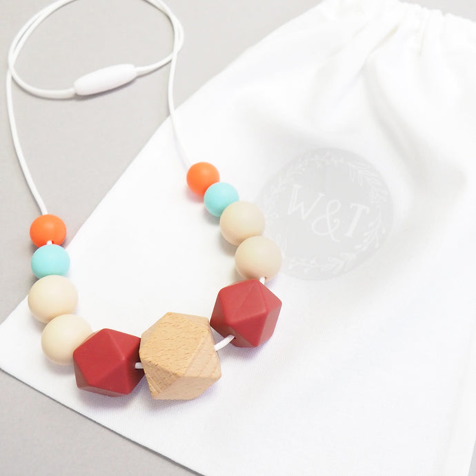 Miss Ditsy Silicone Teething Necklace
