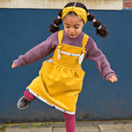Yellow Baby Girls' Corduroy Pinafore Dress - The Wild and The Tame