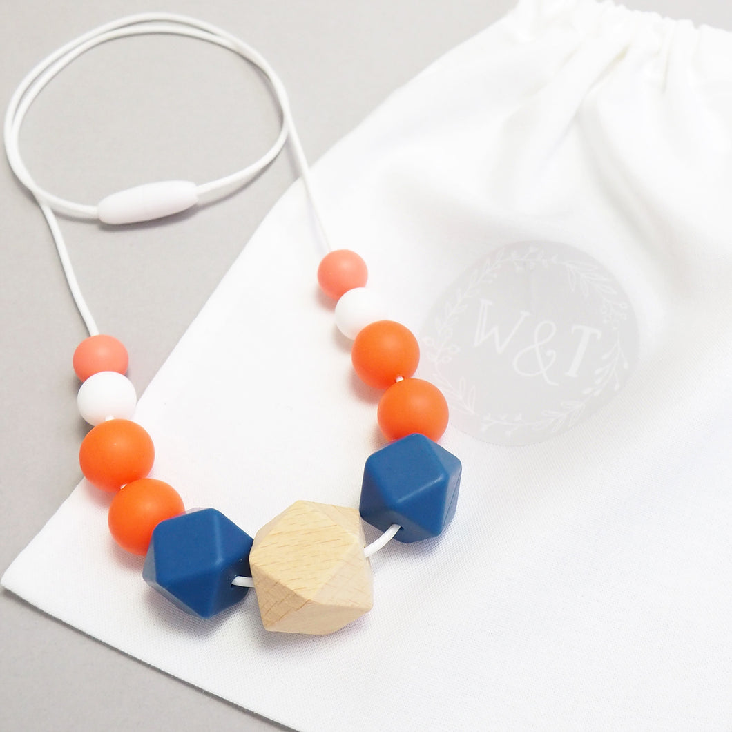 Lioness Silicone Teething Necklace