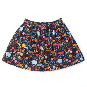Load image into Gallery viewer, Safari Needlecord Baby Girls' Skirt - The Wild and The Tame
