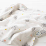 Elephant Parade Organic Swaddle Blanket