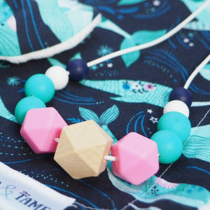 Narwhal Silicone Teething Necklace