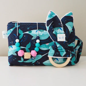 Wondrous Whales Nappy Pouch / Mama Pouch