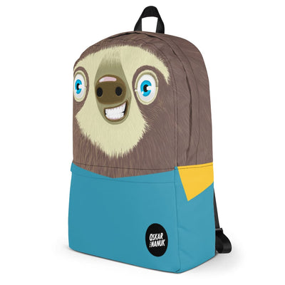 Backpack - sloth - blue
