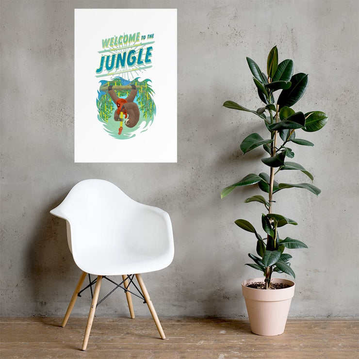 Beautiful Poster - heavyweight Matt Paper Print - Welcome to the Jungle 24×36