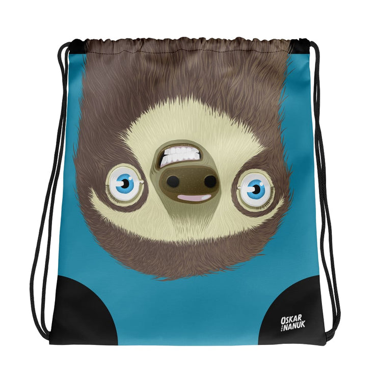 Drawstring bag - Sloth