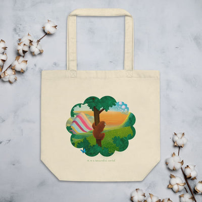 Eco Tote Bag - Beautiful World