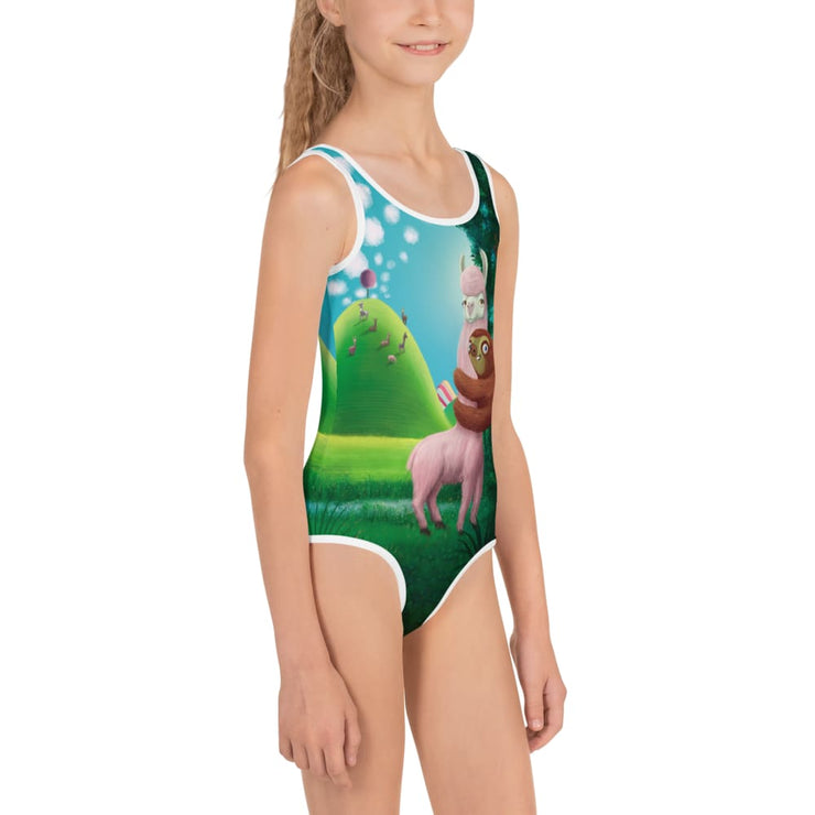 Epic Oskar & Nanuk Girls Swimsuit